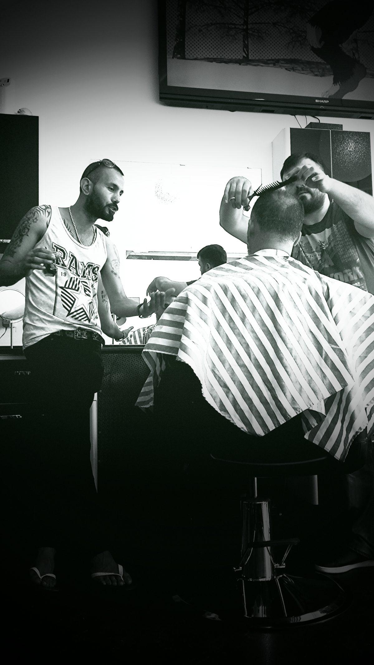 Bij de kapper 2015 - foto Eric Burger